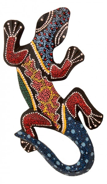 deko gekko fire flames holz 30 cm wandschmuck bilder wandschmuck asien. Black Bedroom Furniture Sets. Home Design Ideas