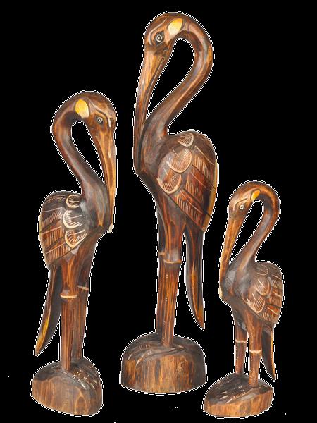 vogel kokokan im 3 er set aus holz geschnitz tierfiguren lateinamerika. Black Bedroom Furniture Sets. Home Design Ideas