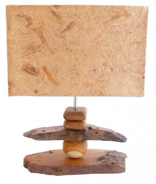 deko leuchte sumba tisch lampe aus holz stimmungsleuchte. Black Bedroom Furniture Sets. Home Design Ideas
