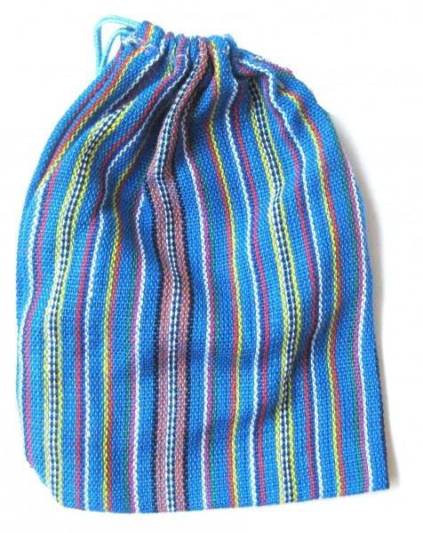 Stoffbeutel, Stoffsäckchen in verschiedenen Farben für Sorgenpüppchen ca. 13 cm x 10 cm