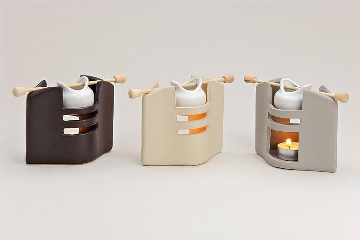duftlampe mia aus keramik tischdeko modern. Black Bedroom Furniture Sets. Home Design Ideas